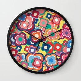 All the Pretty Colors Wall Clock