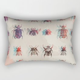 Beetles2 Rectangular Pillow