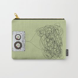 Analog Unravelled Carry-All Pouch