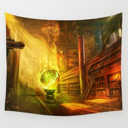 Magic Library Wall Tapestry