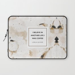 I believe in another life I was coffee Laptop Sleeve