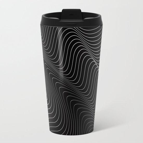 Minimal curves II Metal Travel Mug