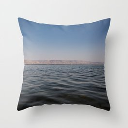 Sea of Galilee Throw Pillow