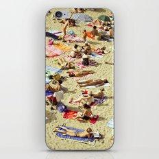 Beach pattern iPhone & iPod Skin