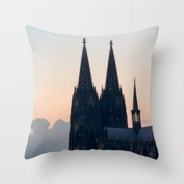 COLOGNE 18 Throw Pillow