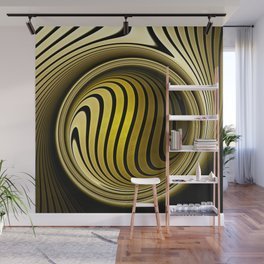 Turning into gold Wall Mural