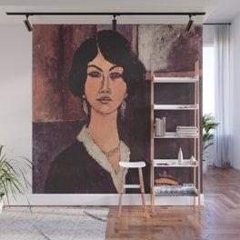 """Amedeo Modigliani """"Almaiisa Seated"""" Wall Mural"""