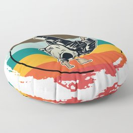 Sparring Athletes Floor Pillow