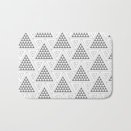 Triangles Bath Mat