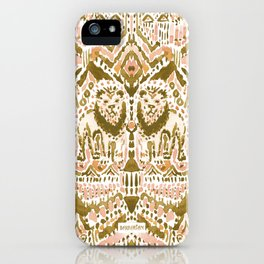 PRIDE INSIDE Lion Tribal Gold Peach iPhone Case