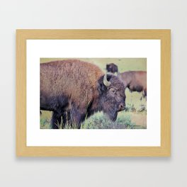 The Big Guy Framed Art Print