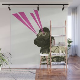 Space Dog Wall Mural