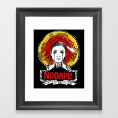 #NODAPL Framed Art Print