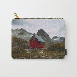 The Mint Hut in Hatcher Pass, Alaska Carry-All Pouch