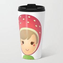 The Strawberry Gal Travel Mug