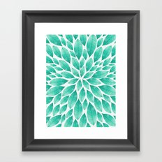 Petal Burst #12 Framed Art Print