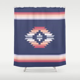 Graphic Pattern One Shower Curtain