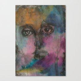 Watercolor Man Canvas Print