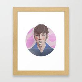Troye Sivan  Framed Art Print