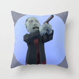 Bub_v2 Throw Pillow