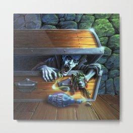 Vampire Breath Metal Print