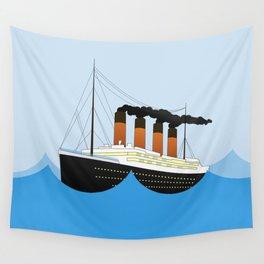 Big Ship Wall Tapestry