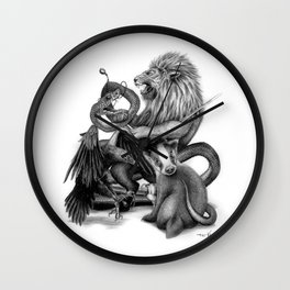 The Founders Wall Clock