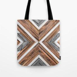 Urban Tribal Pattern No.4 - Wood Tote Bag