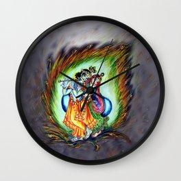 Radha Krishna  Wall Clock
