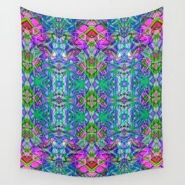 Fractal Art Stained Glass G372 Wall Tapestry