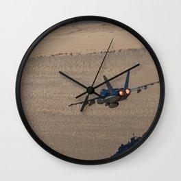Hornet Low Level Wall Clock