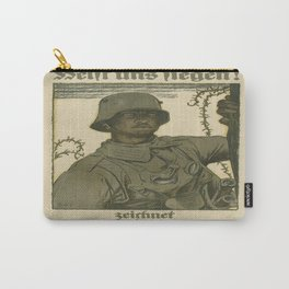 Vintage poster - German propaganda Carry-All Pouch