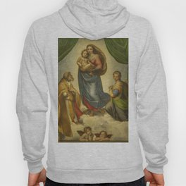 "Raffaello Sanzio da Urbino ""Sistine Madonna"", 1513-1514 Hoody"