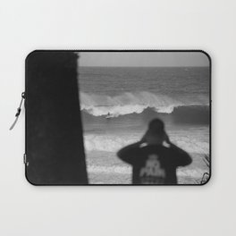 Massive wave with surfer Laptop Sleeve