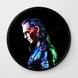 Loki - A Study In Perfection III Version One Wall Clock