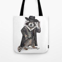 Raccoon Bandit Tote Bag