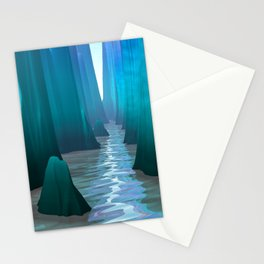 Mysterious Canyon Passage Stationery Cards