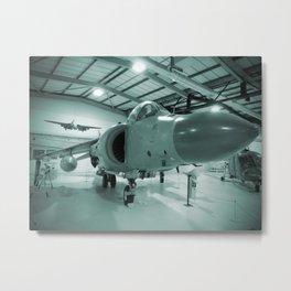 Sea Harrier Metal Print