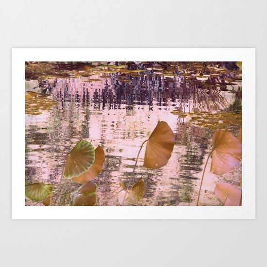 lotus dream (2) Art Print
