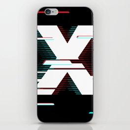 X futuristic poster iPhone Skin
