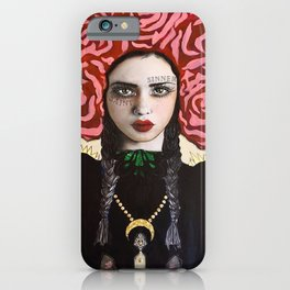 Saint Sinner iPhone Case