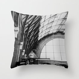 Kings Cross Station, London Throw Pillow