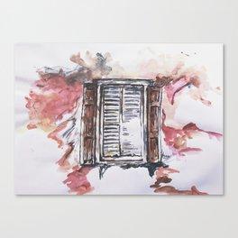 Window of Hope Canvas Print