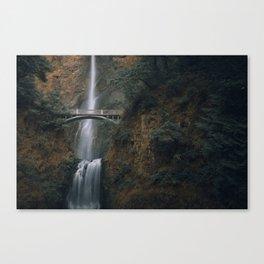 Multnomah Falls Oregon Canvas Print