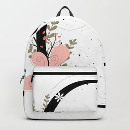 Letter C of the alphabet Backpack