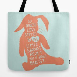 So Much Love Stirred in a little Sawdust Heart Tote Bag