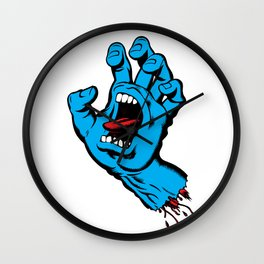 Screaming Hand (1985) Wall Clock
