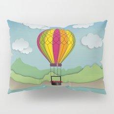 Balloon Aeronautics Sea & Sky Pillow Sham
