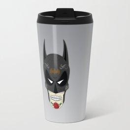 Bat-Man Sugar Skull Travel Mug