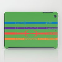 tmnt iPad Cases featuring TMNT by mattholleydesign